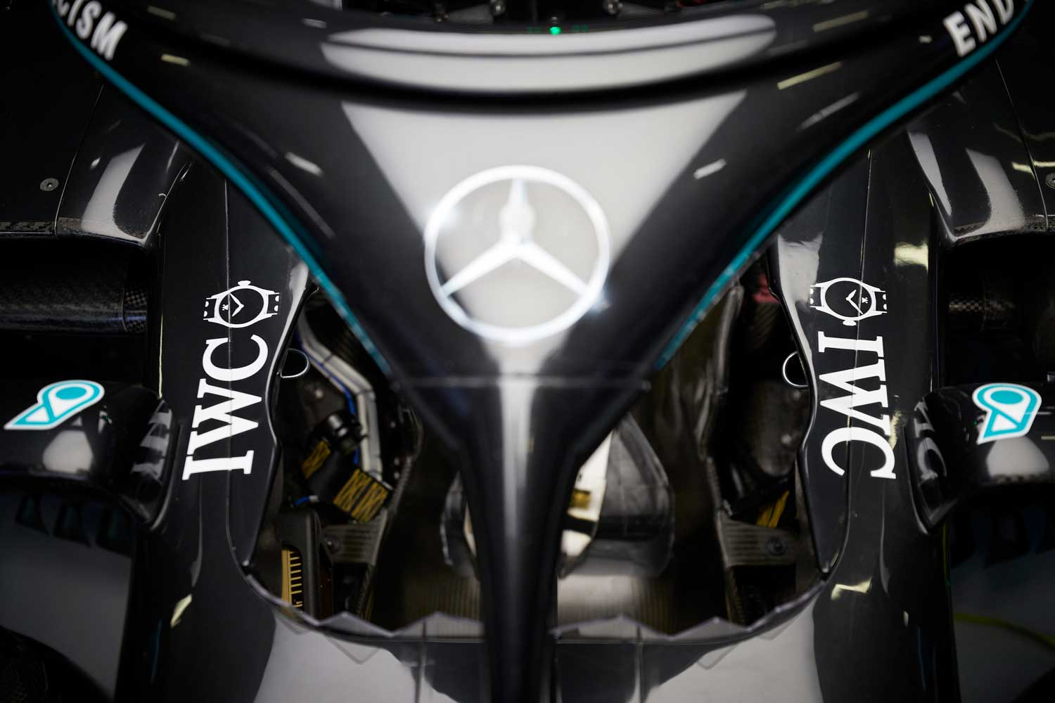IWC has been a partner of the Mercedes-AMG Petronas Formula One team since 2013