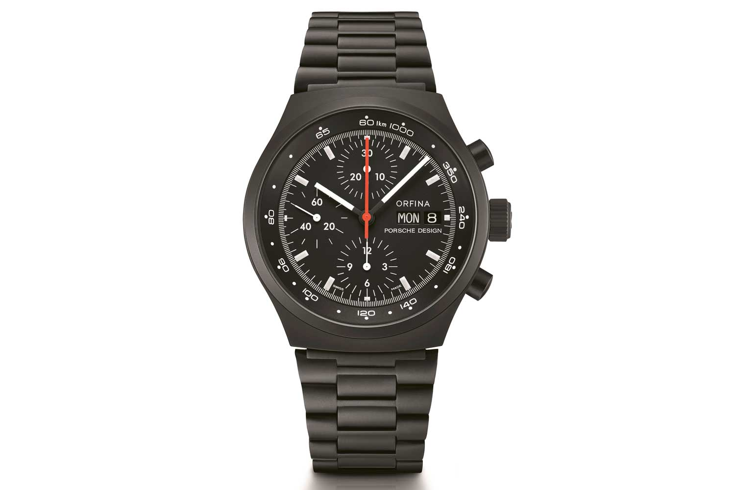 The Porsche Design Chronograph 1 was the world's first blacked out watch.
