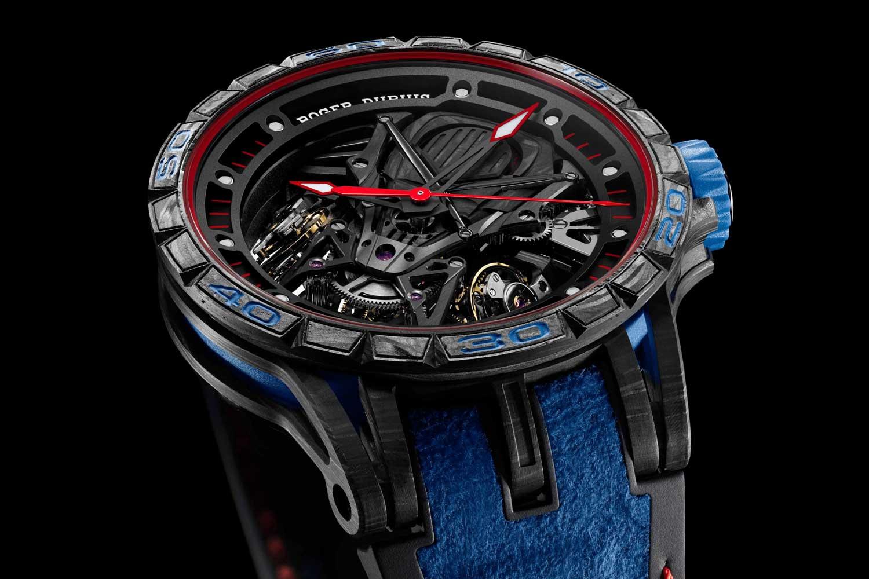 The Roger Dubuis Excalibur Aventador S Blue