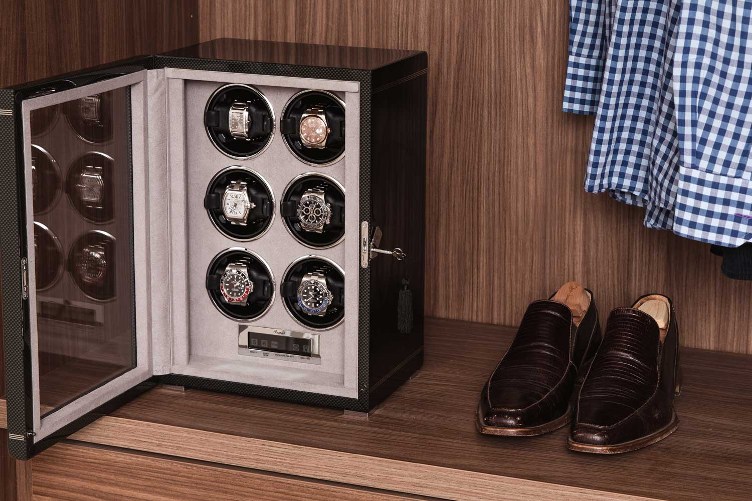 The Formula Six Watch Winder