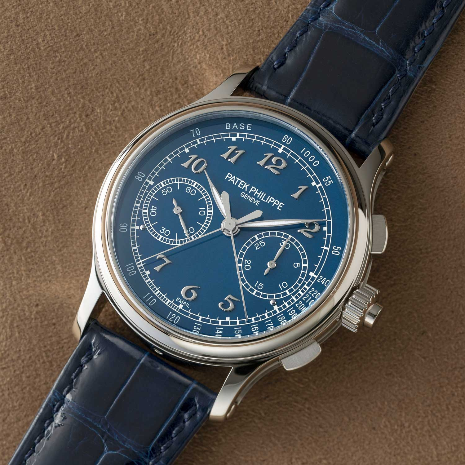 The Patek Philippe Ref. 5370P-011 Split Seconds Chronograph was launched in 2020 (©Revolution)