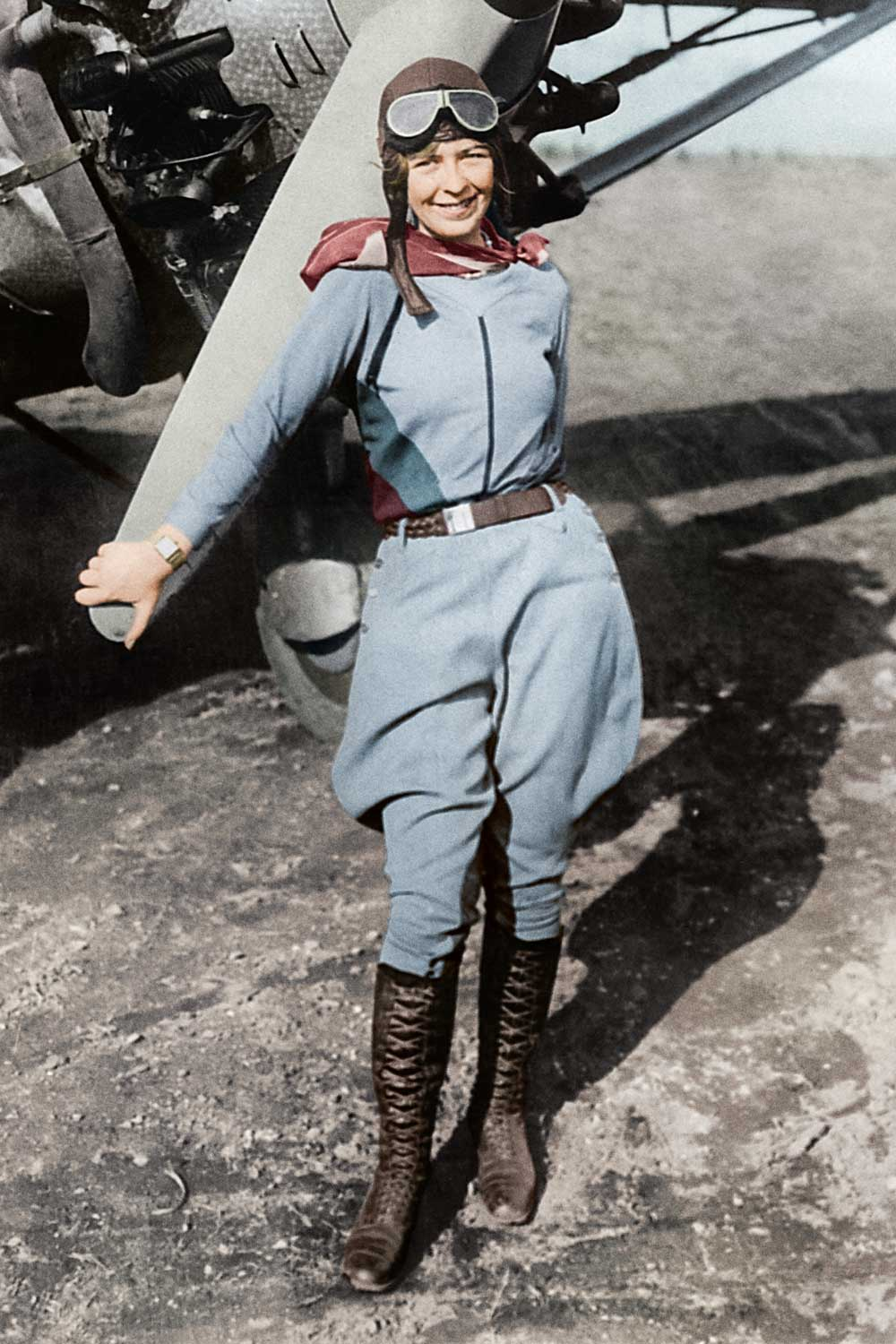 American aviator, Elinor Smith was once the youngest licensed pilot in the world at age 16, she later also became the first woman test pilot for both Fairchild and Bellanca, presently known as Avia Bellanca