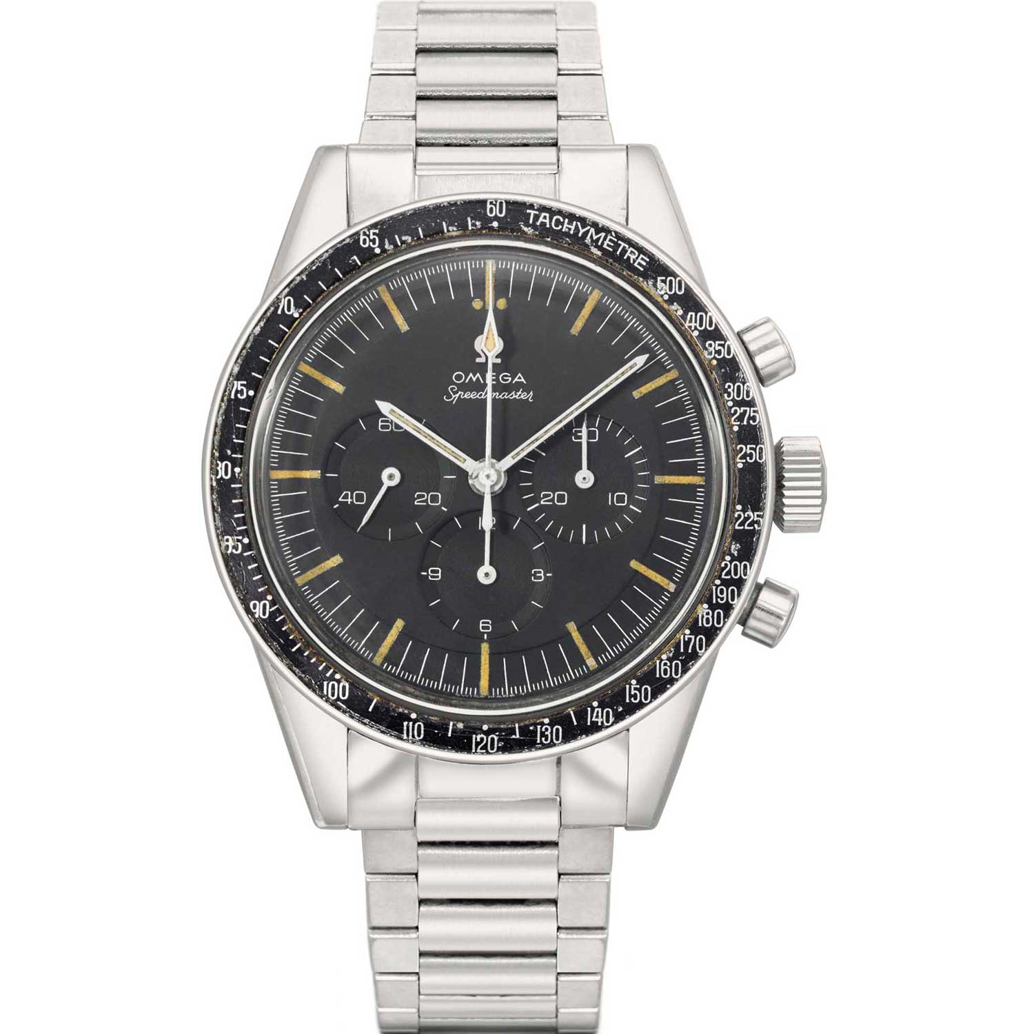 The third generation of the Speedmaster, the 1963 ST 105.003 (Image: Christies.com)