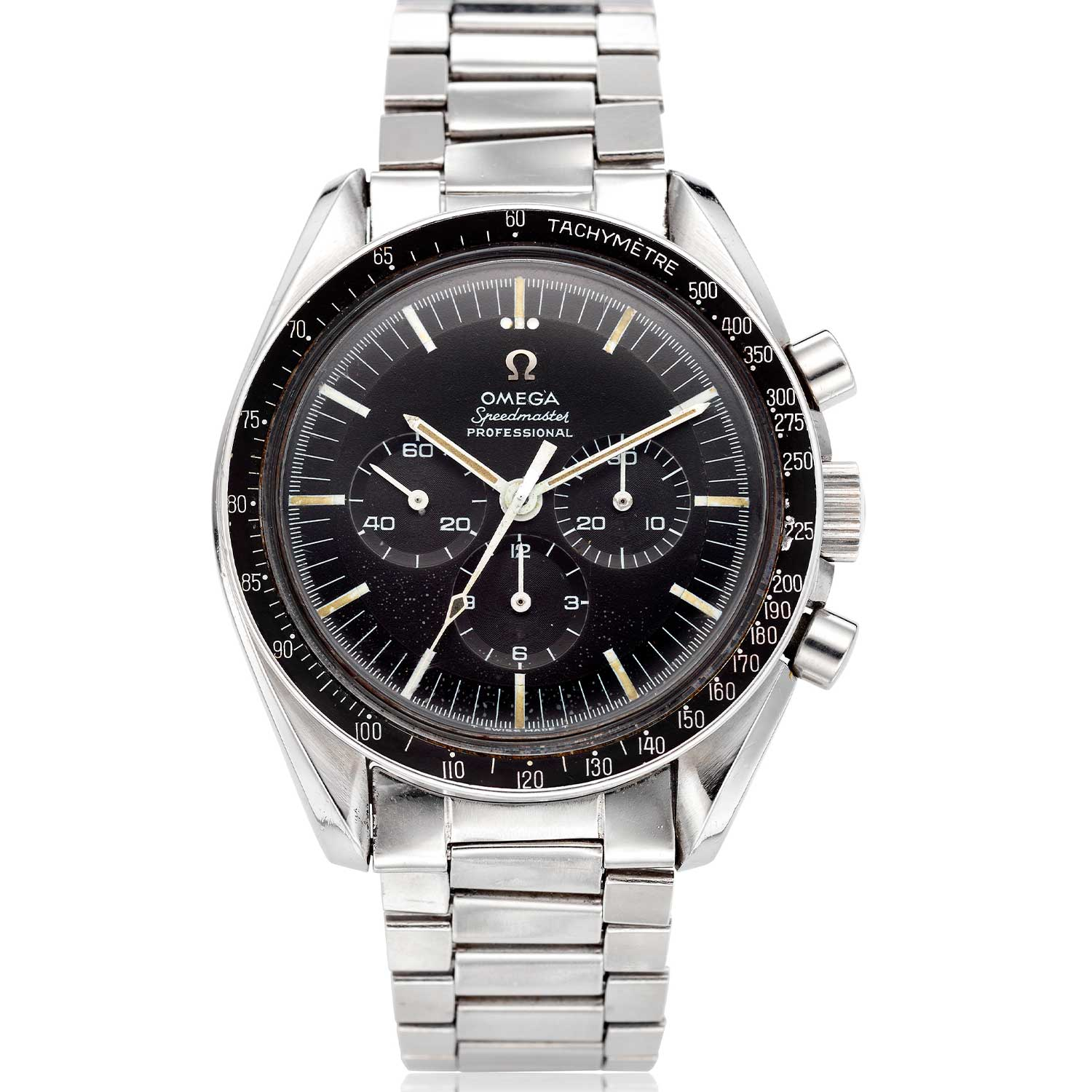 The Speedmaster ref. ST 145.012 with a DON bezel (Image: Christies.com)