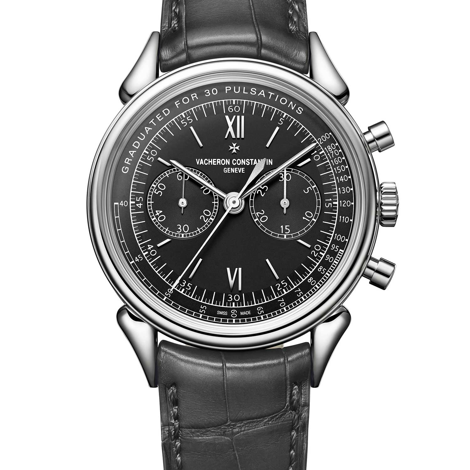 Vacheron Constantin Historiques Cornes de vache 1955 ref. 5000H/000A was a limited edition of 36 pieces made for Hodinkee in 2017, in stainless steel