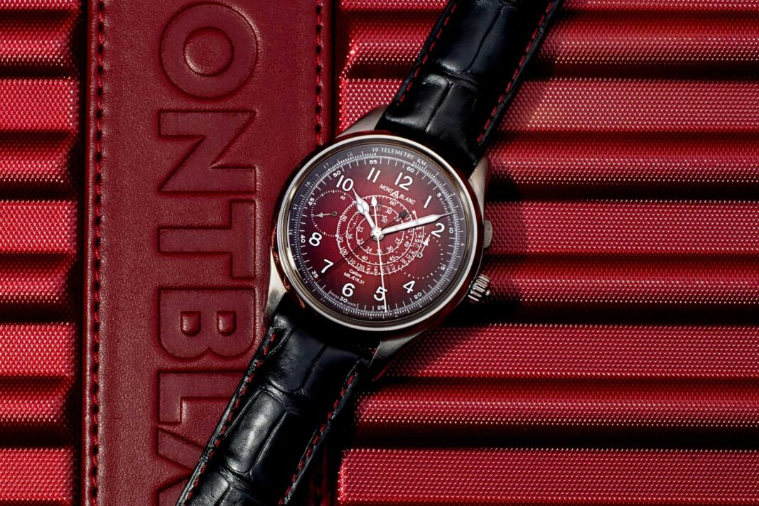 Montblanc 1858 Split Second Chronograph Limited Edition 8