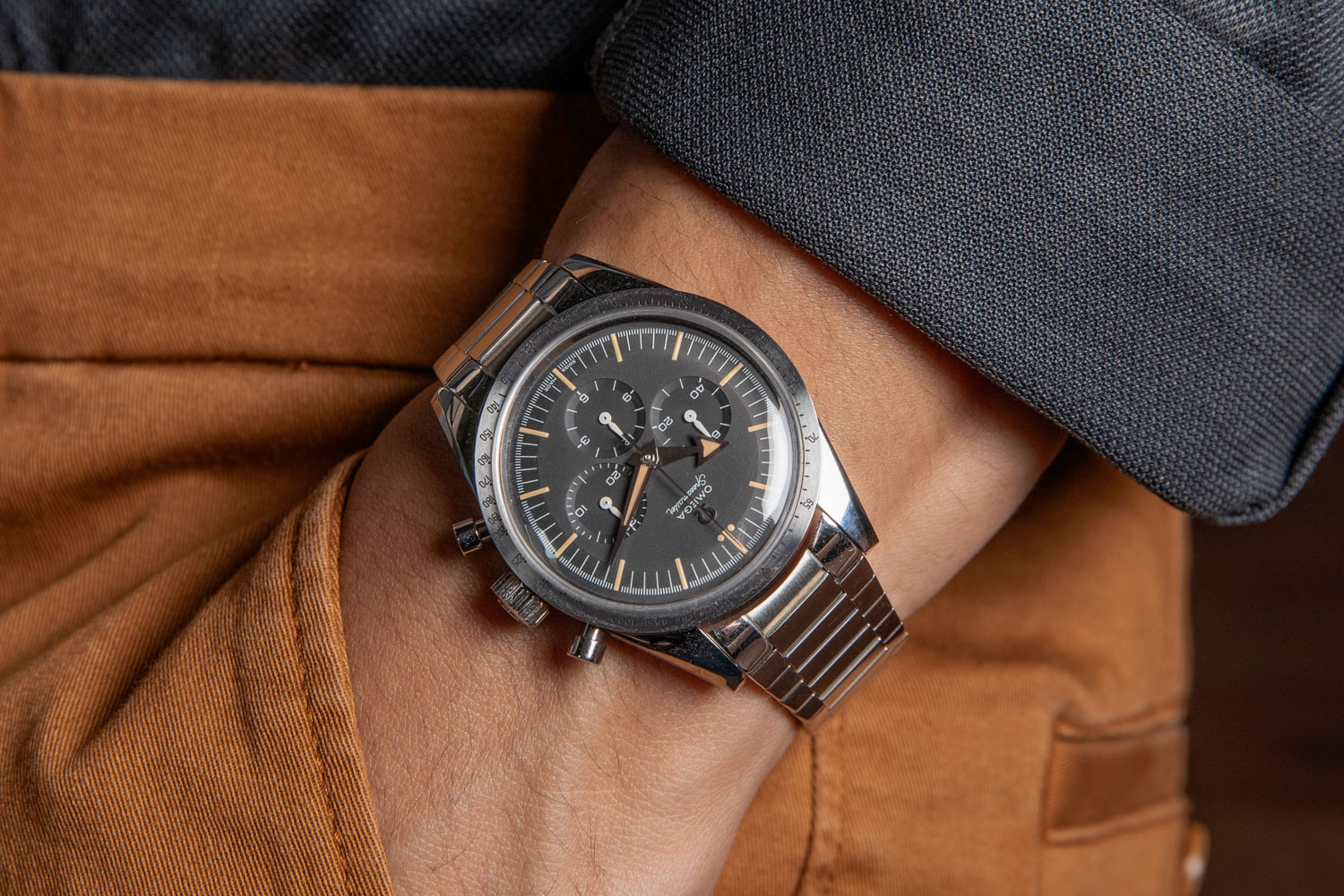 2017 Omega Speedmaster '57 Chronograph the 1957 Trilogy (©Revolution)