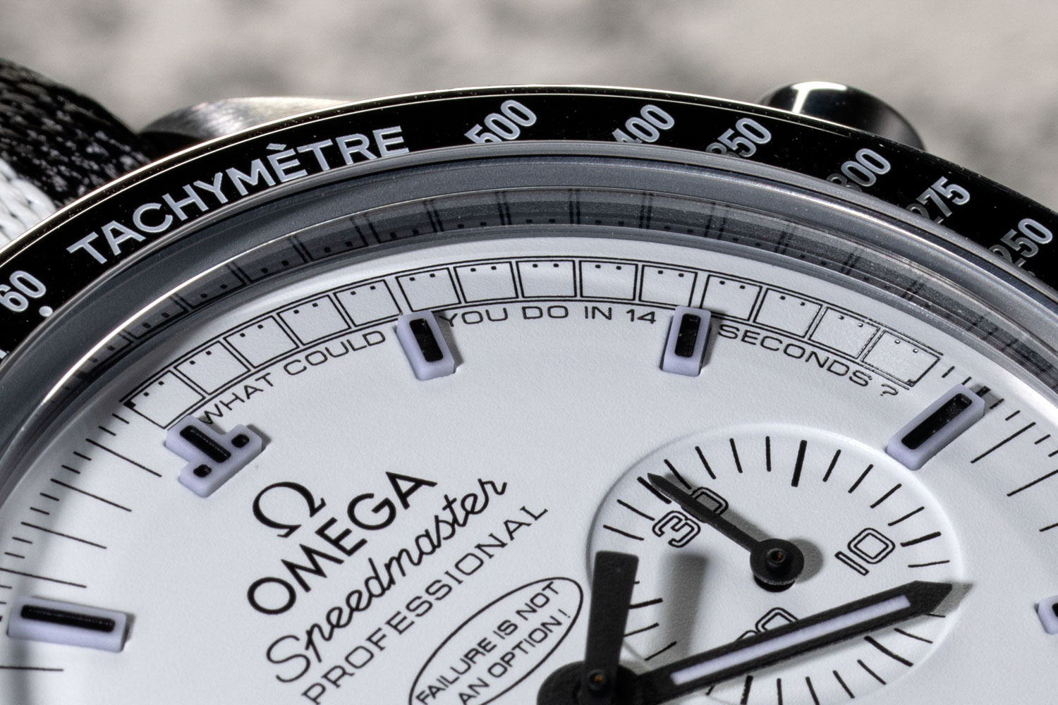 The Omega Speedmaster Silver Snoopy launched in 2015, was limited to 1970 pieces (©Revolution)