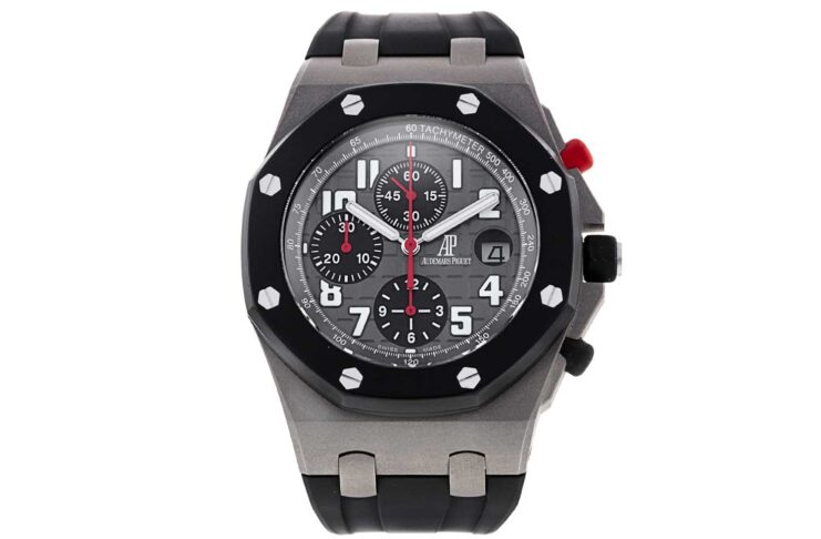 The Audemars Piguet Royal Oak Offshore Gstaad Classic Limited Edition, made in a small run of only 50 pieces