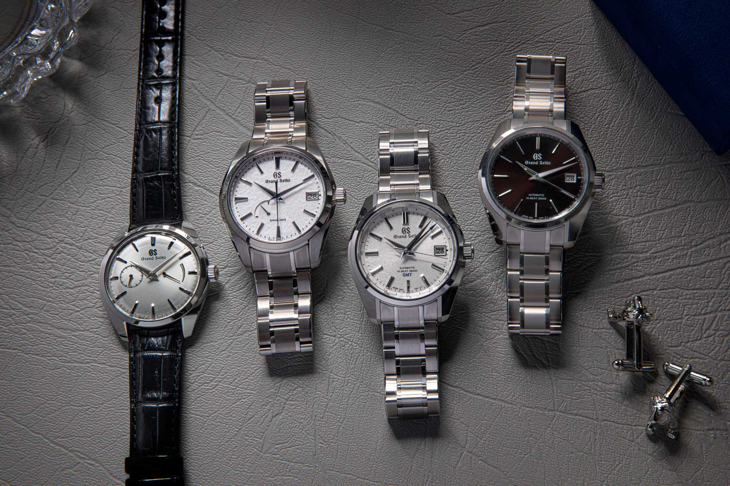 Revolution is proud to offer four of our favorite Grand Seiko models each expressing the best of the brand's tradition in design, finishing and technical innovation (©Revolution)