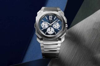 Octo Finissimo S Chronograph GMT Steel ref. 103467