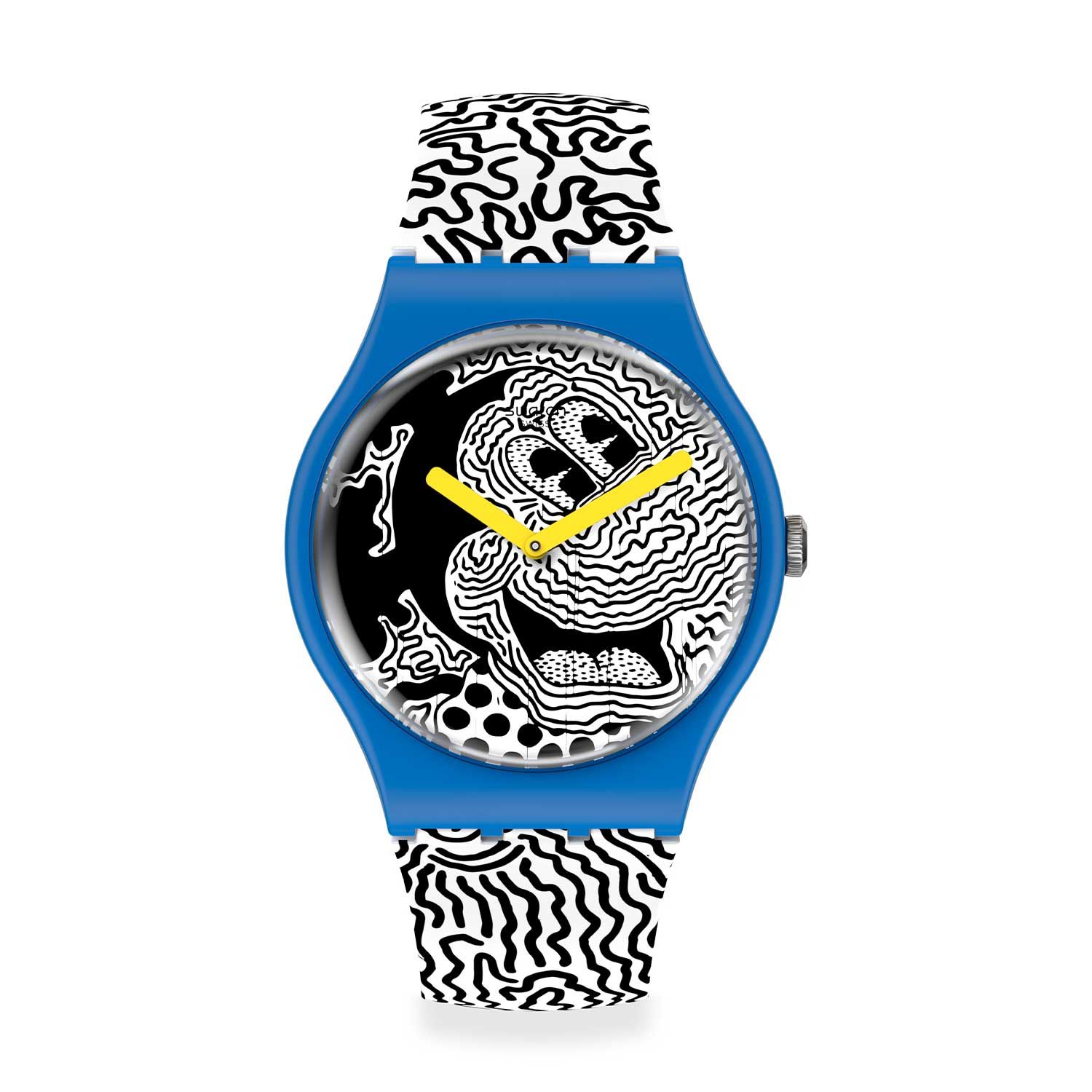 01 Swatch X Keith Haring %E2%80%93 The Mickey Watch - Swatch X Keith Haring - Đồng hồ Mickey siêu ấn tượng