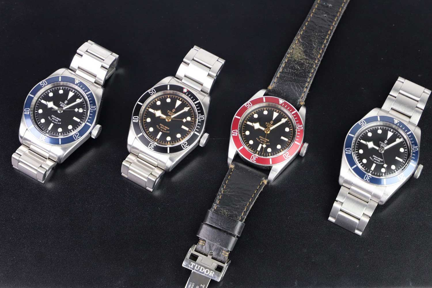In 2012, Tudor released the Heritage Black Bay based on vintage Tudor Submariners (Image: millenarywatches.com)