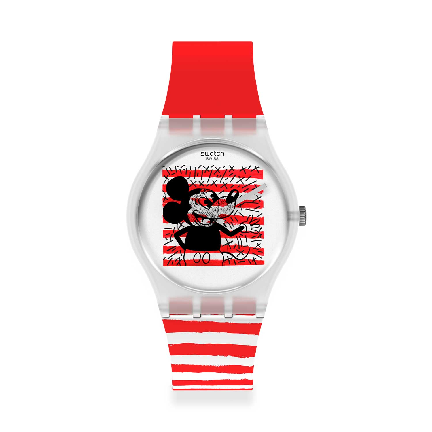 03 Swatch X Keith Haring %E2%80%93 The Mickey Watch - Swatch X Keith Haring - Đồng hồ Mickey siêu ấn tượng
