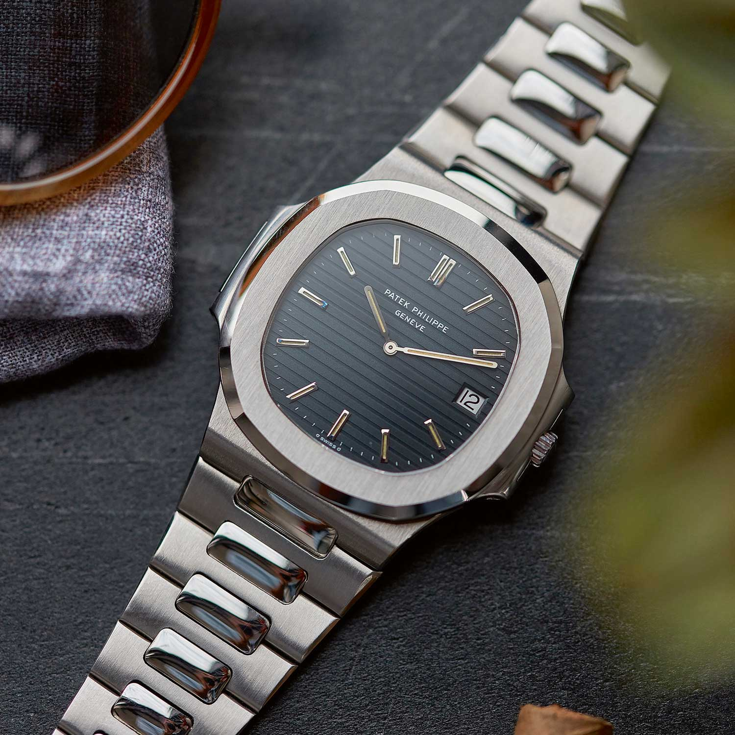 Patek Philippe Nautilus reference 3700/1A launched in 1976 (Image: A Collected Man)