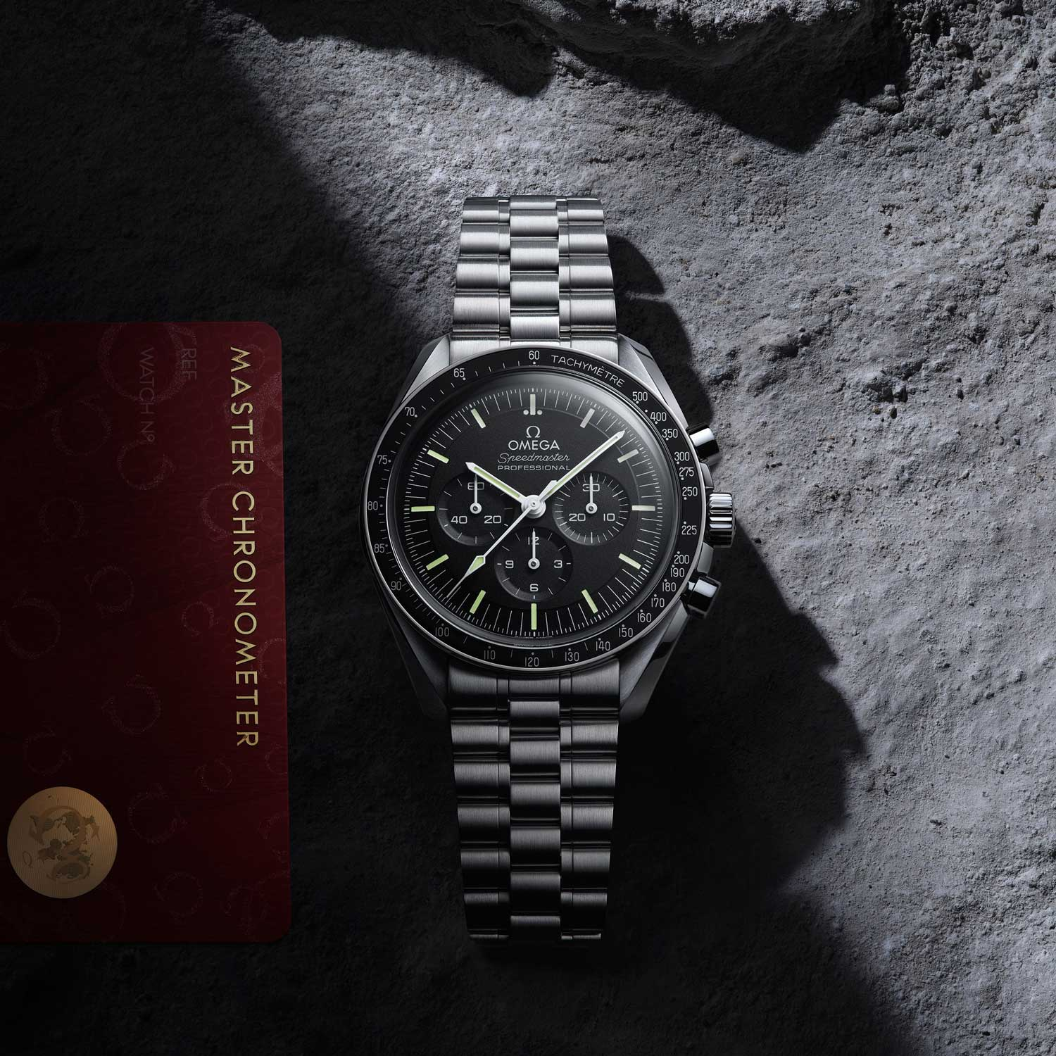 All of the watches from the 2021 Speedmaster collection are Master Chronometer Certified and backed by Omega's 5 year warranty