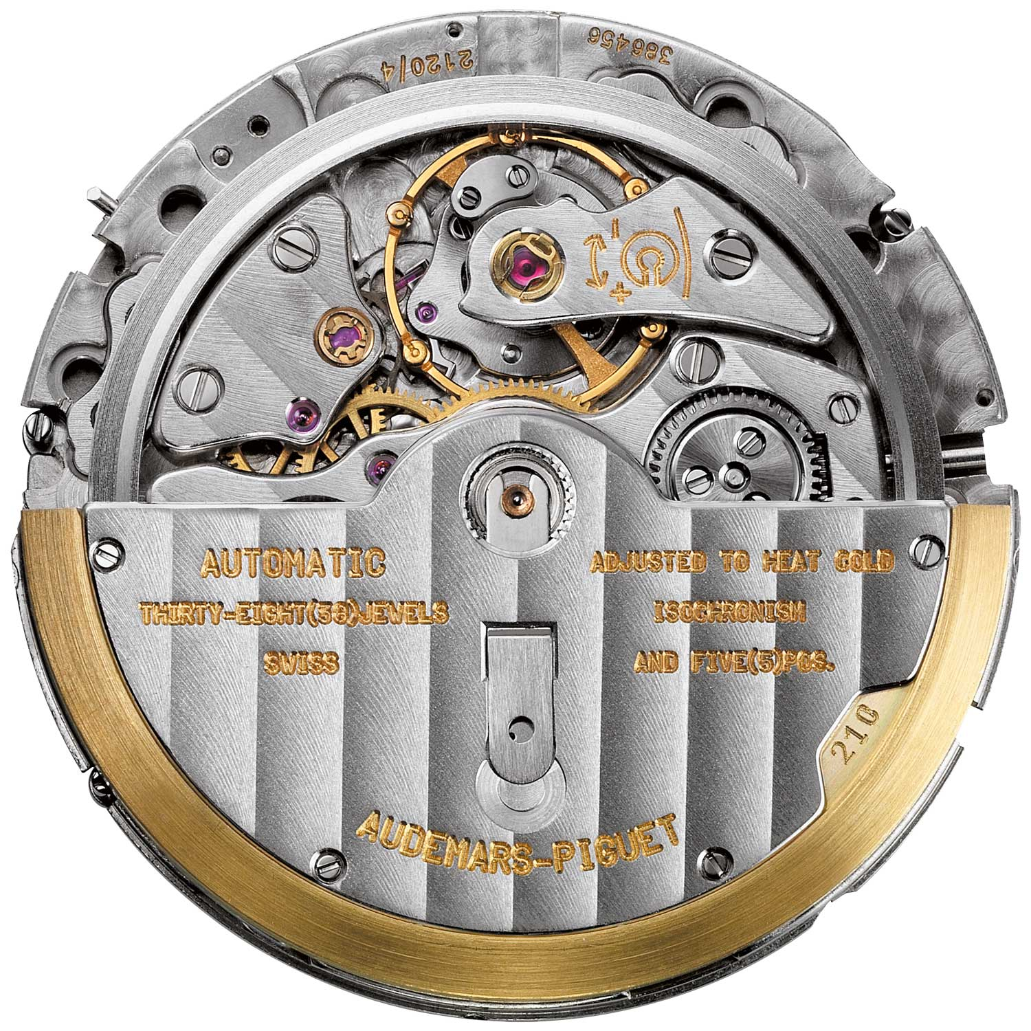 ...and the 2121/2800 perpetual calendar movement