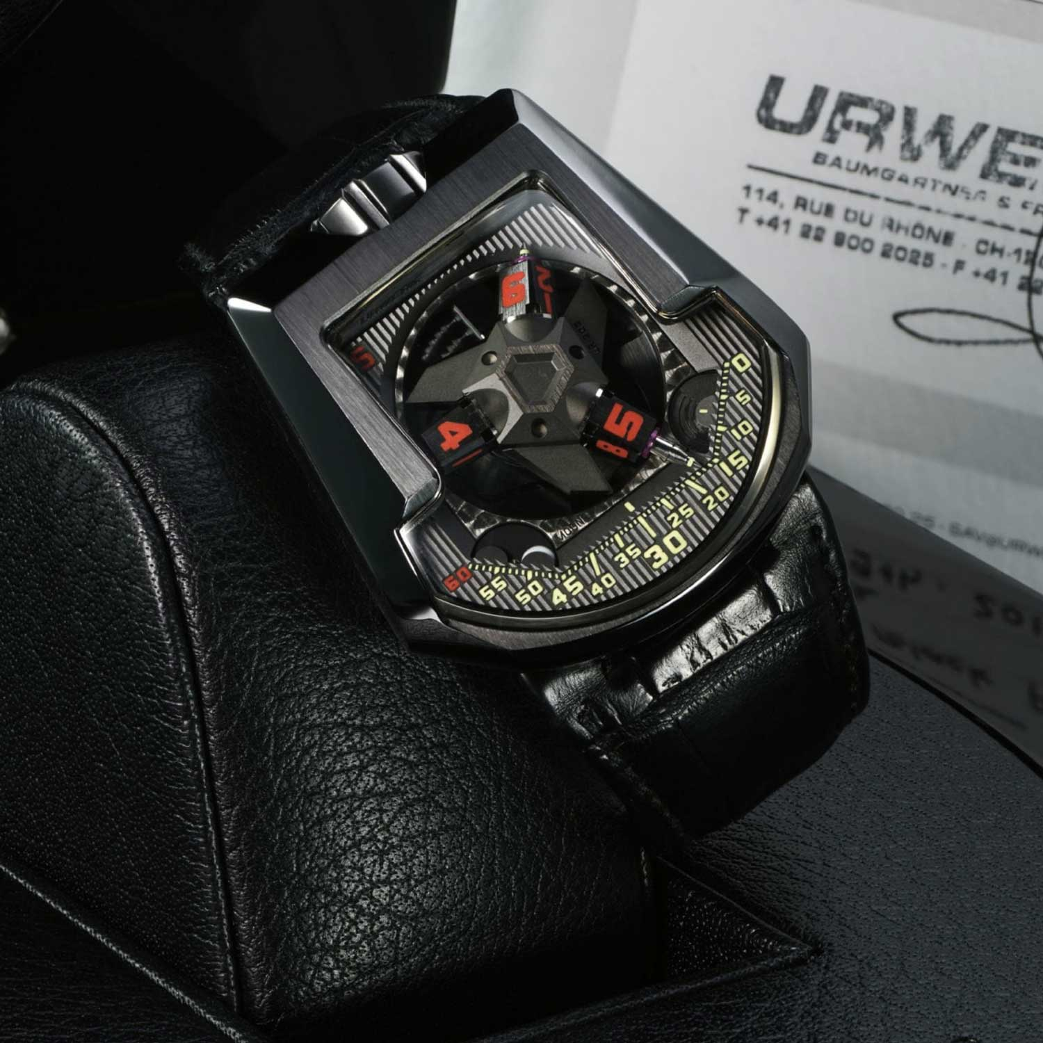 An exceptional execution of the UR-203 Black PT