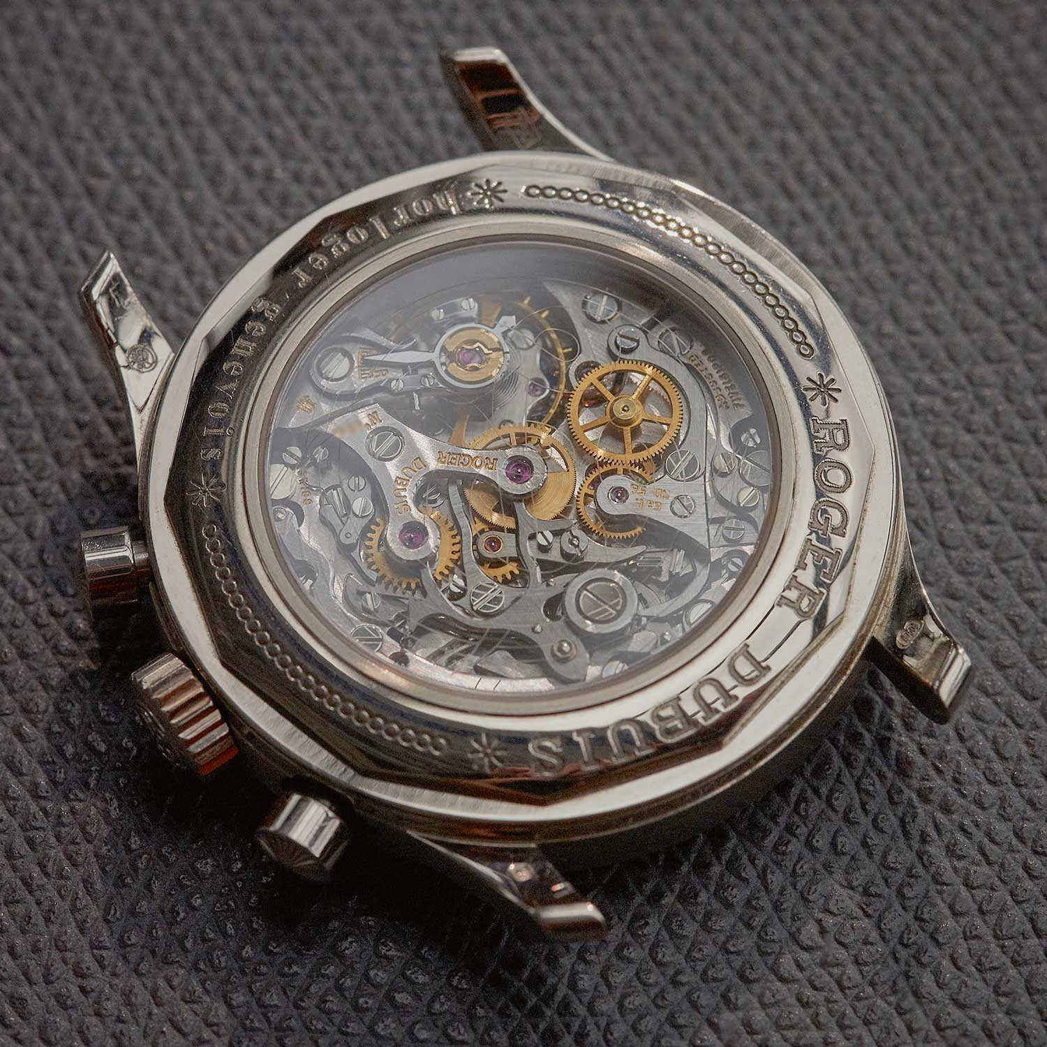 The back of an Hommage Chronograph