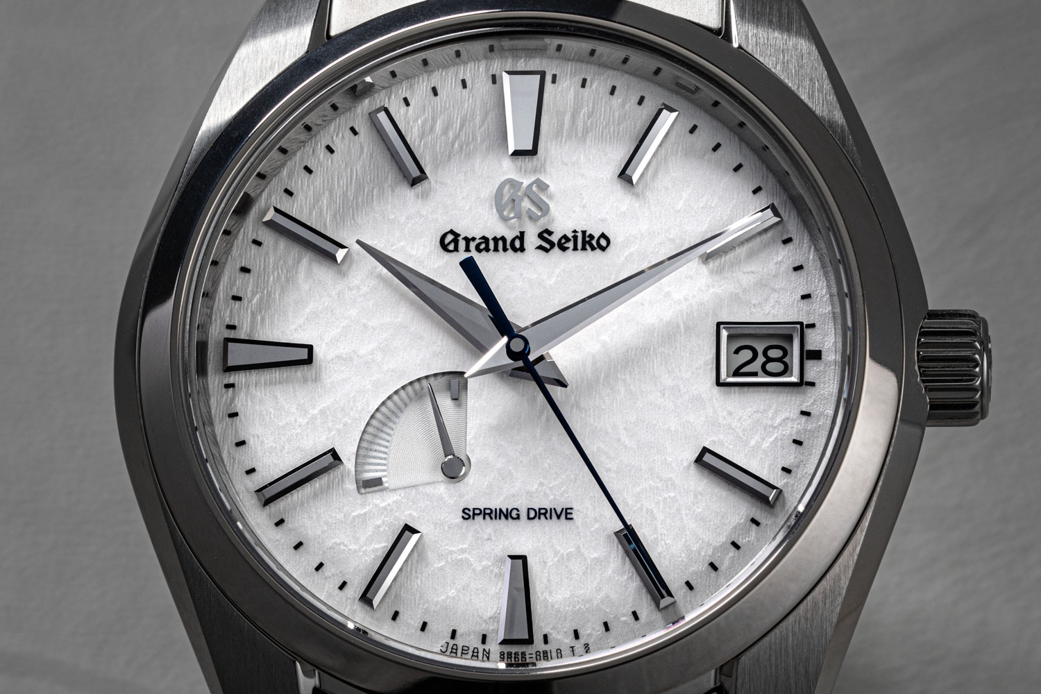 The Grand Seiko 'Snowflake' SBGA211 is one of the most handsome watches around characterized by a dial that perfectly evokes the rippling and undulating surface of the snow surrounding Grand Seiko's Artisan Studio, located in Nagano Prefecture (©Revolution)