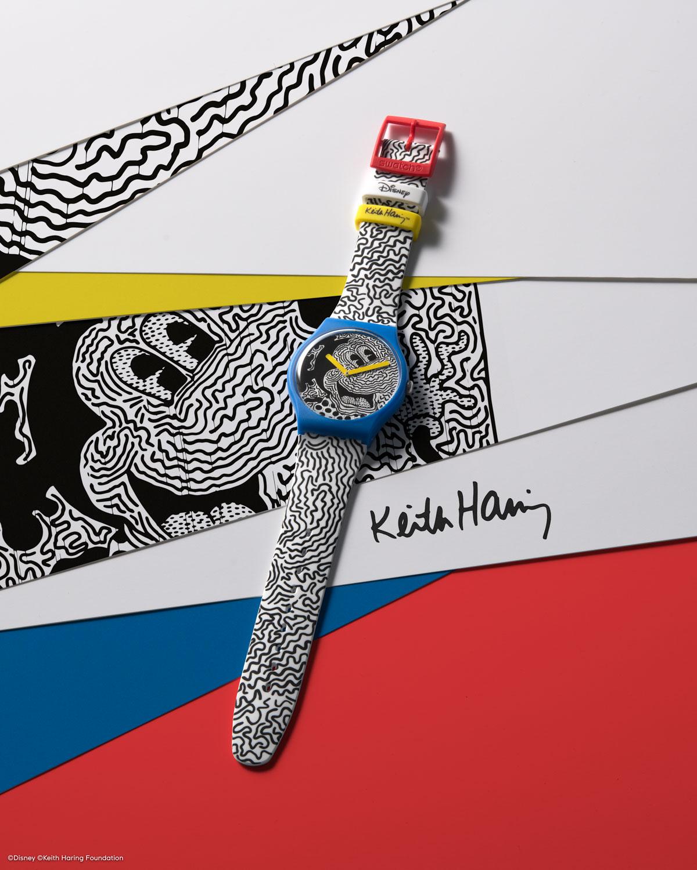 sc01 20 keith haring still life suoz336 4x5 pr Original - Swatch X Keith Haring - Đồng hồ Mickey siêu ấn tượng