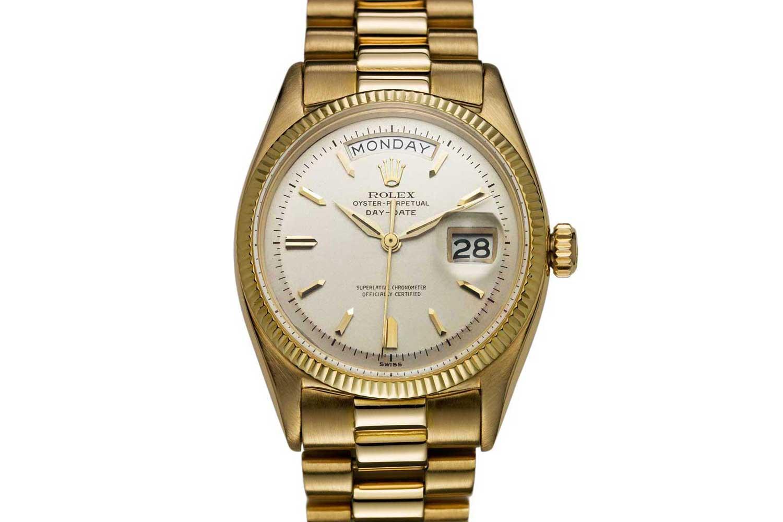 Mô hình đầu tiên của Rolex-Day-Date từ năm 1956.