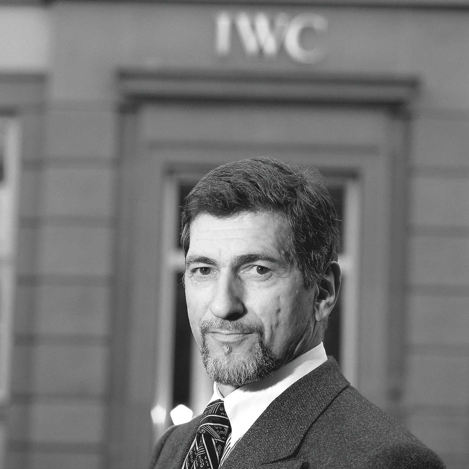 Günter Blümlein joined IWC as the CEO in 1982 (Image: Phillips Watches)
