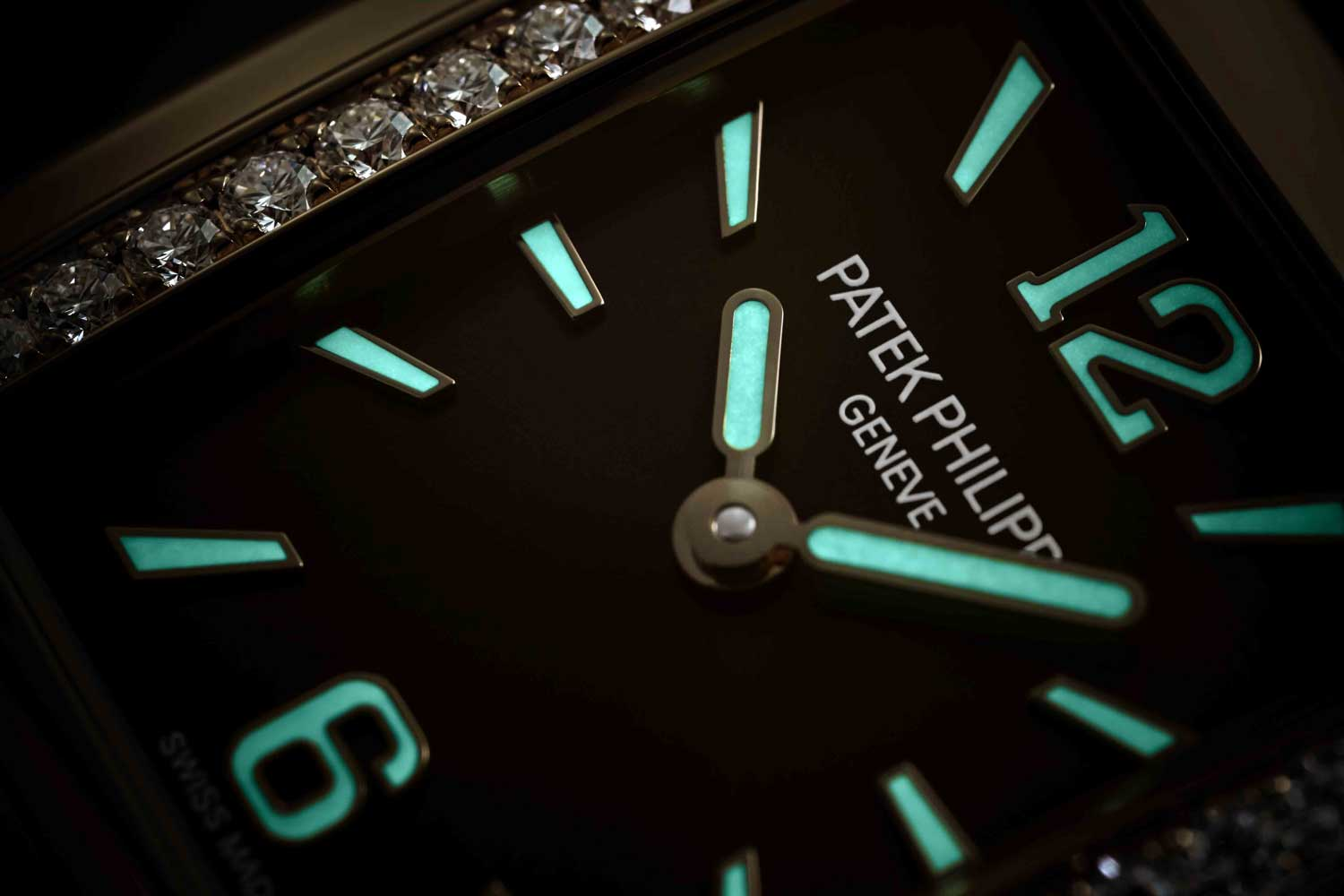 The indexes and hands on the watch are coated with Super-Luminova for low-light or night timekeeping.