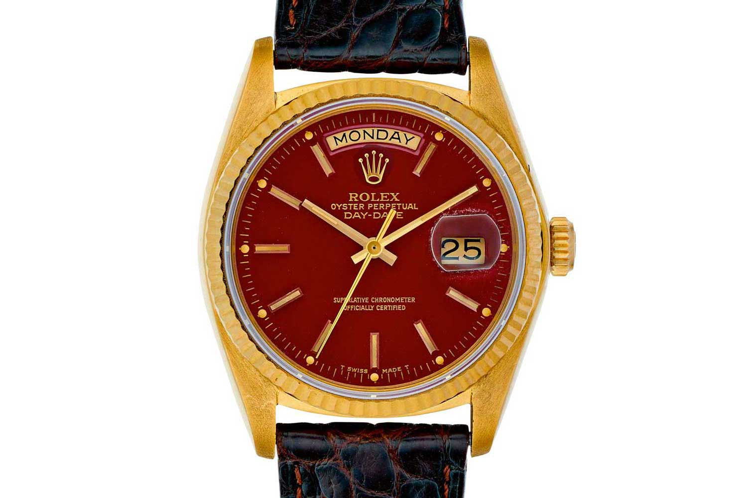 Rolex-Day-Date ref 18038 from 1970s.