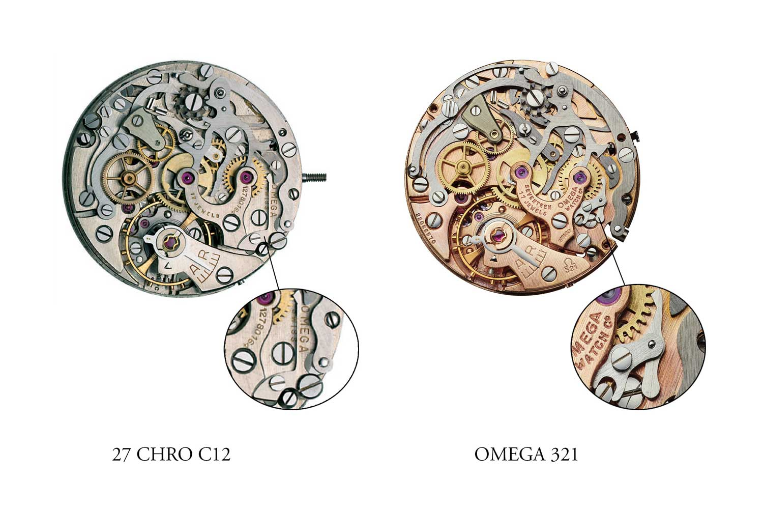 The Complete History of the Chronograph Movement-Lemania CH27.