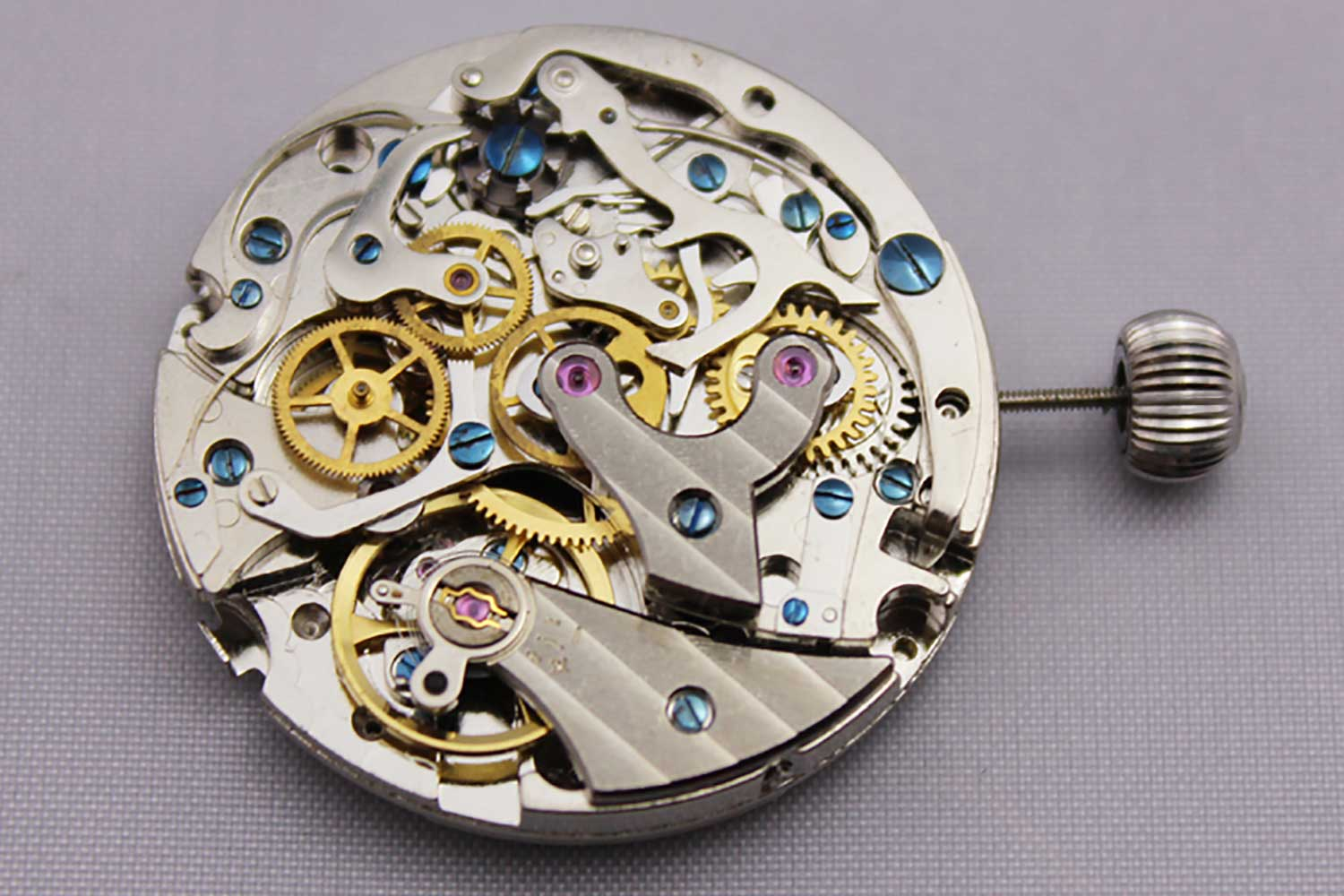 The Seagull ST19 movement that was derived from the Venus 175. (Image: Kamisky Blog)