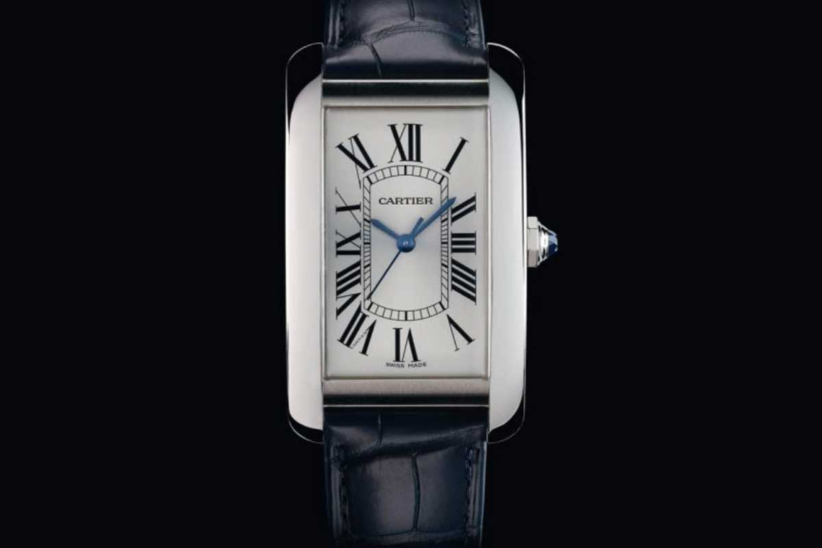 In 2017, Cartier released the Tank Américaine in steel as part of the celebrations of 100 years of the Tank.