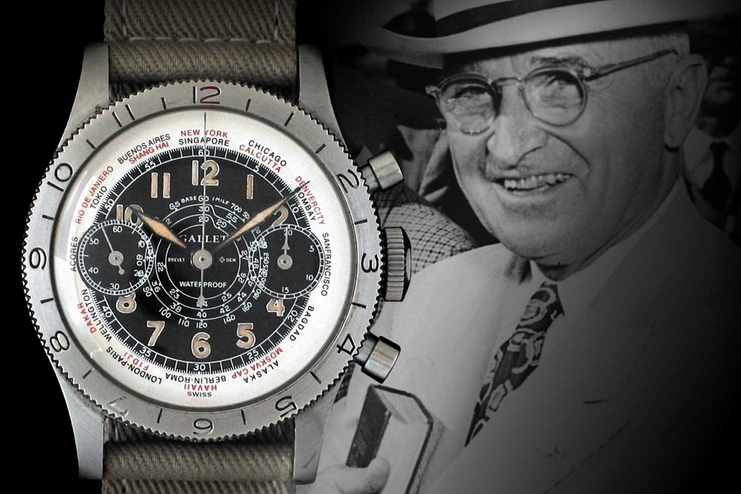 Harry Truman and his Gallet Flying Officer