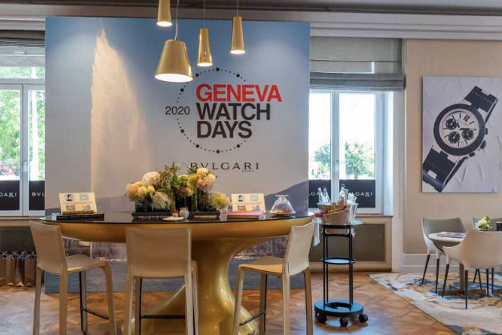 The Geneva Watch Days was the only major industry trade show to have taken place in Switzerland last year.