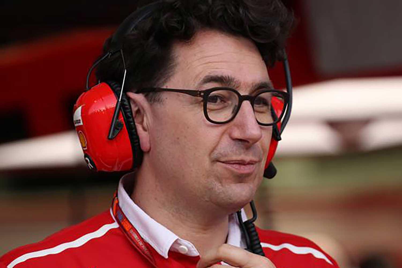 Mattia Binotto, Managing Director and Team Principal Scuderia Ferrari