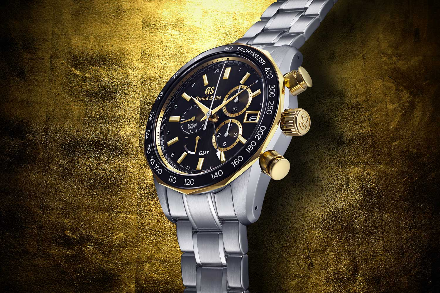 The Grand Seiko Sports Collection Spring Drive Chronograph GMT: SBGC240 Seiko 140th Anniversary Limited Edition of 500 pieces