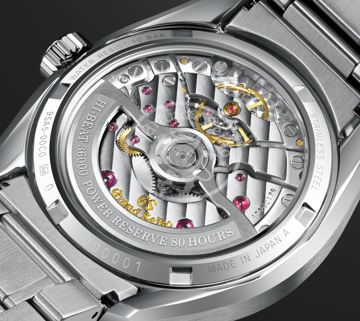 The Heritage Collection Series 9 SLGH005 is powered by the groundbreaking calibre 9SA5