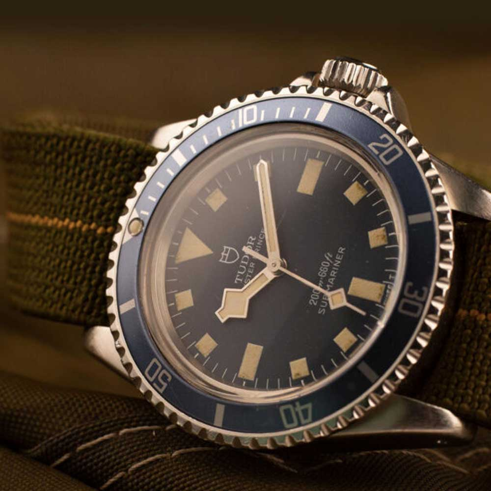 In the early 90s, Haslinger was fascinated by Tudors issued to the Marine Nationale [French Navy]. The ref. 9401 pictured above was created for the French Navy, or 'Marine Nationale'. Image: Gentleman's Journal