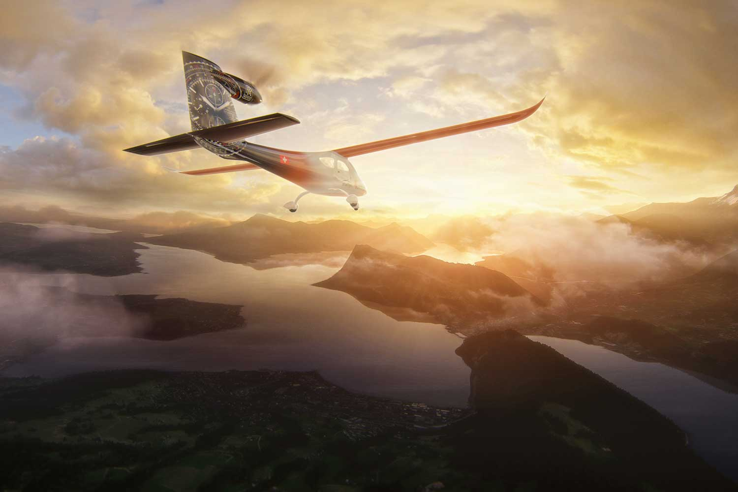 The award-winning design of the prototype SFX1 is slated to begin production for the first hybrid-electric engines in airspace in 2023.
