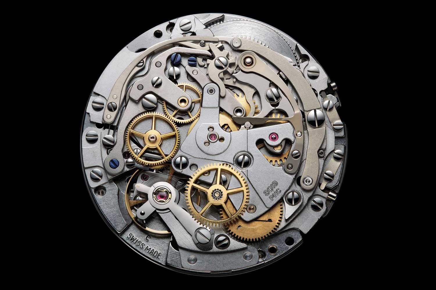 A vast majority of mechanical chronographs sold today use the Valjoux 7750, which was introduced in 1974, or variants of this movement.
