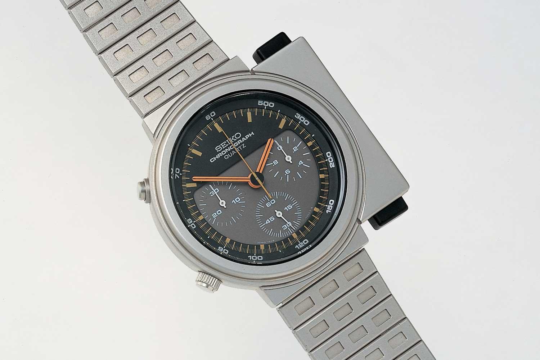 The iconic Seiko quartz 7A28-7000 worn by Sigourney Weaver in the film Aliens