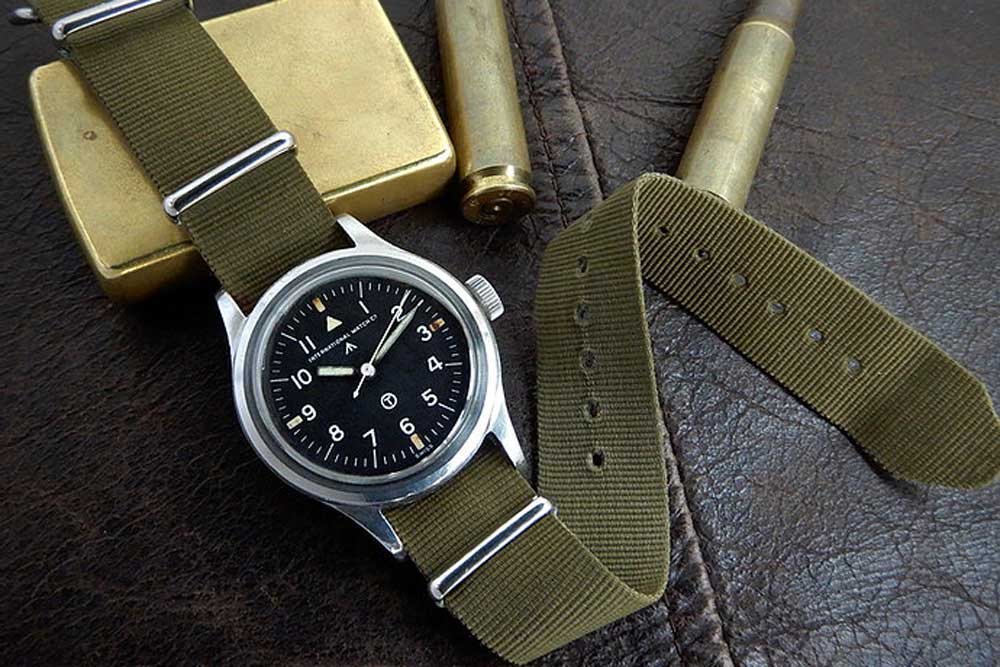 The IWC Mark XI powered by Calibre 89 was made for the Royal Air Force in 1951(Image: fullywound.com)