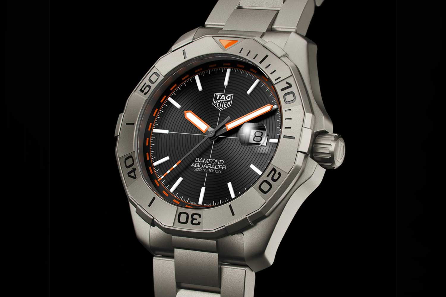 The TAG Heuer Aquaracer Bamford Limited Edition