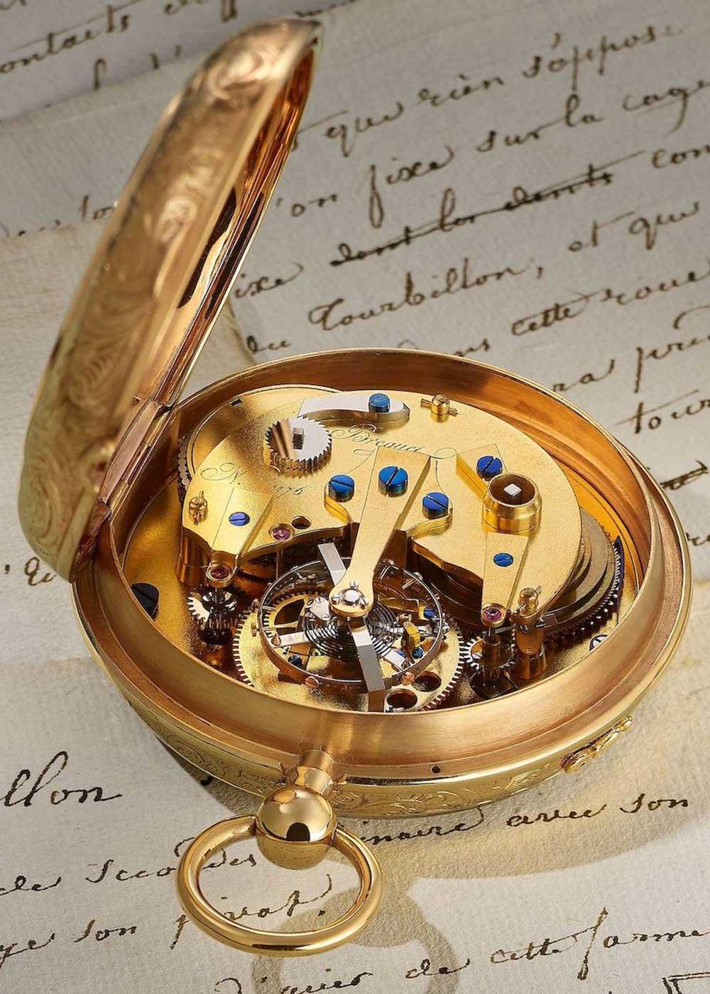 Breguet No. 1176, a 64 mm tourbillon pocket watch from 1809