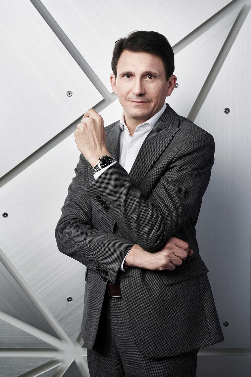 Guy Bove, creative director, TAG Heuer