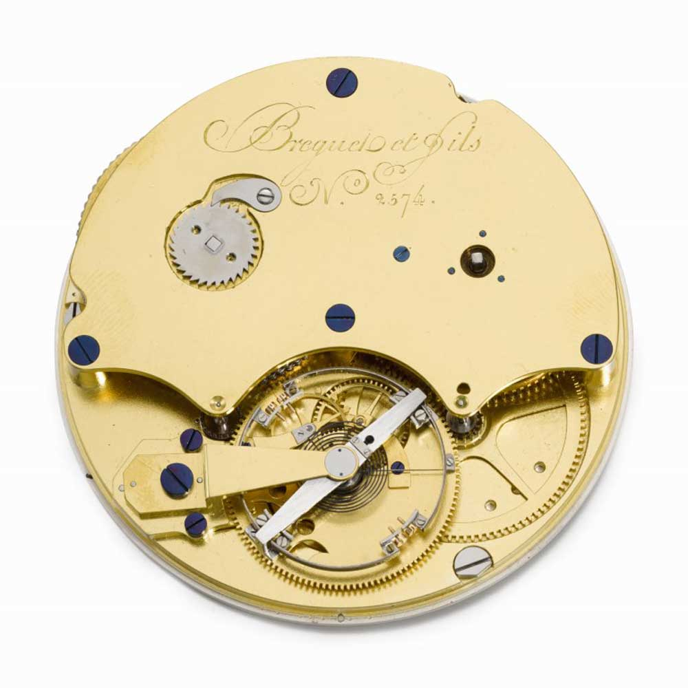 The large six-minute tourbillon in this watch beat at an unusually high 21,600 vibrations per hour (Image: Sothebys.com)