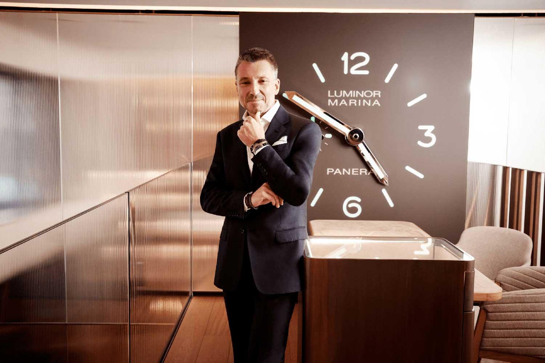 CEO at Panerai, Jean-Marc Pontroué