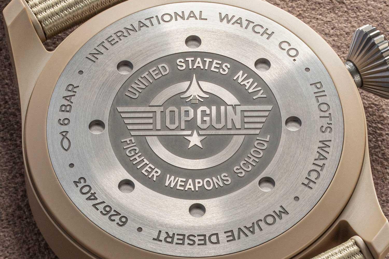 "The Big Pilot's Watch Top Gun Edition ""Mojave Desert (Image: Revolution)"