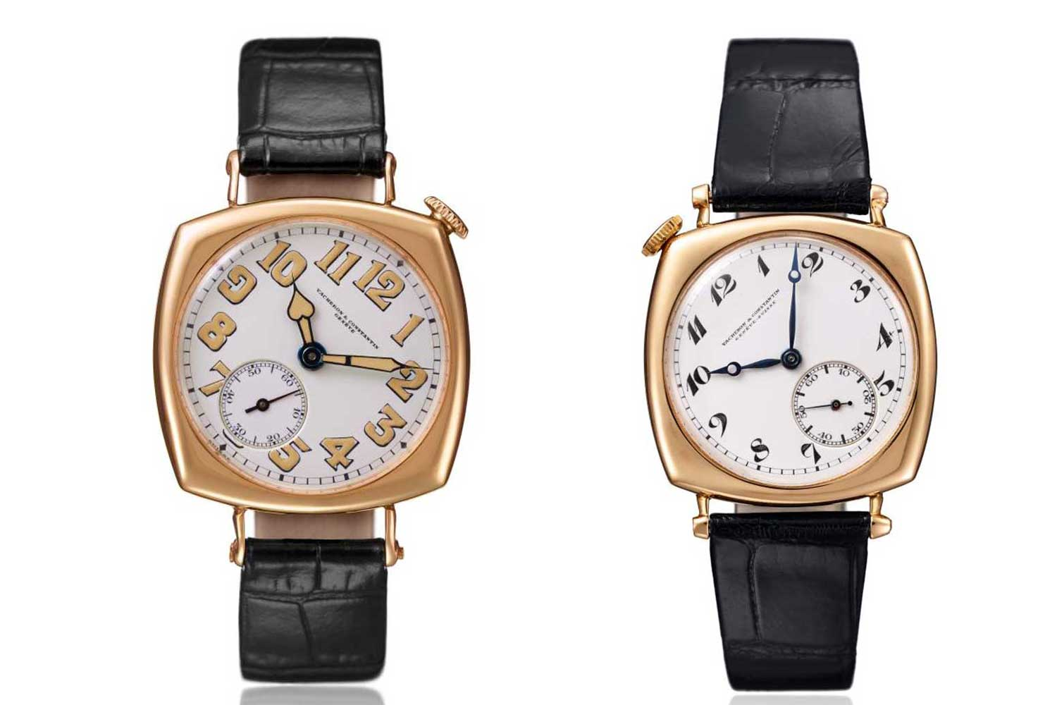 Vacheron Constantin Heritage reference 11032 from 1919 and reference 11677 from 1921