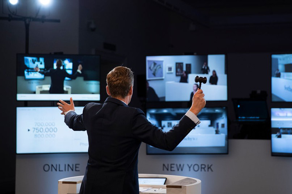 The rise of online events, which went up from just 22 in 2019 to 144 in 2020, favoured the arrival of a younger audience, says Thierry Huron, founder of Mercury Project. Image : Sotheby's